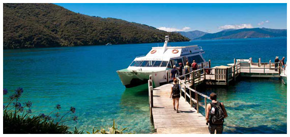 Queen Charlotte Sound Water Transport & Luggage Transfers